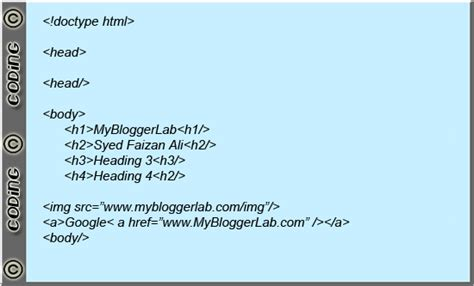 insert html css javascript codes in blogger posts as plain