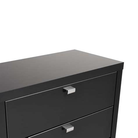 9 Drawer Black Dresser by Prepac Series 9 Designer 6 Drawer Dresser Black Bdbr 0560 1