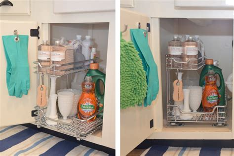 under the kitchen sink storage ideas diy kitchen remodel diy kitchen remodel ideas