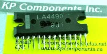 La4182 Ic Audio Sanyo la4490 ic audio lifier sanyo kp components inc