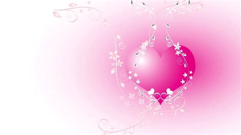 pink heart wallpaper pink heart with white vector design hd wallpapers