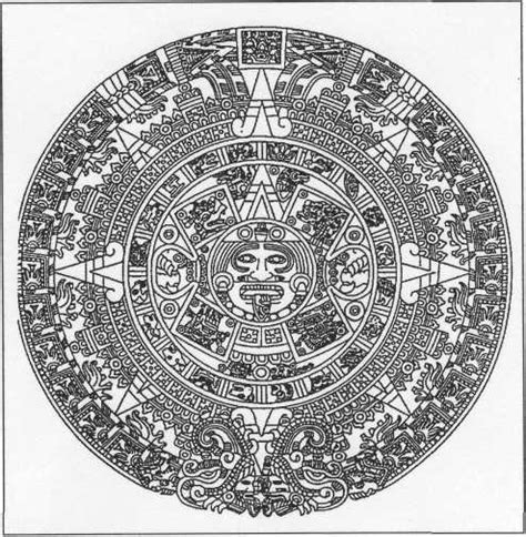 Calendar Meaning Search Results For Aztec Calendar Meaning Calendar 2015