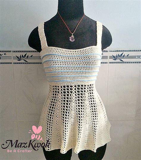 pattern crochet tank top 25 fabulous new things in crochet link liefde