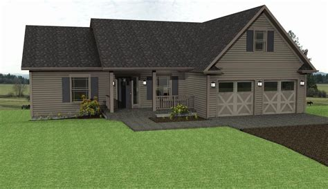 Detached Garage House Plans by Acadian Style House Plans With Detached Garage House