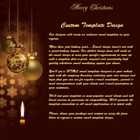 merry christmas  year  html  mail templates