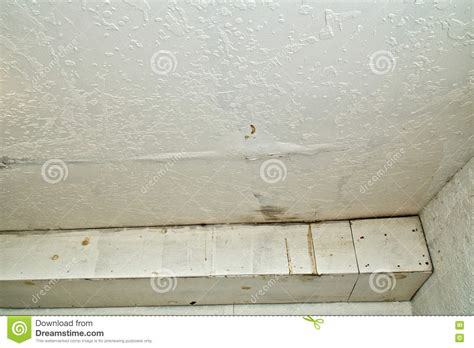 leaking ceiling stock images royalty free images water damage to ceiling from rain leak stock photo image