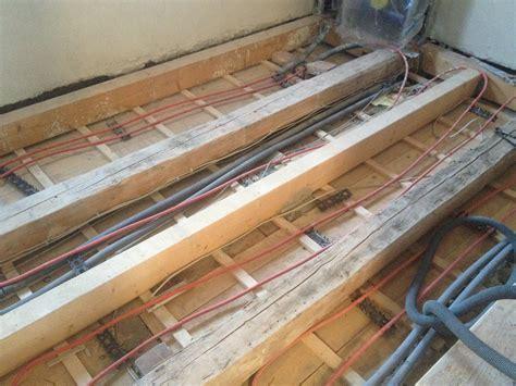 fußbodenheizung holzboden bodenaufbau mit fu 223 bodenheizung im obergeschoss