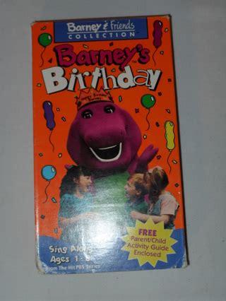 free barney s birthday vhs vhs listia