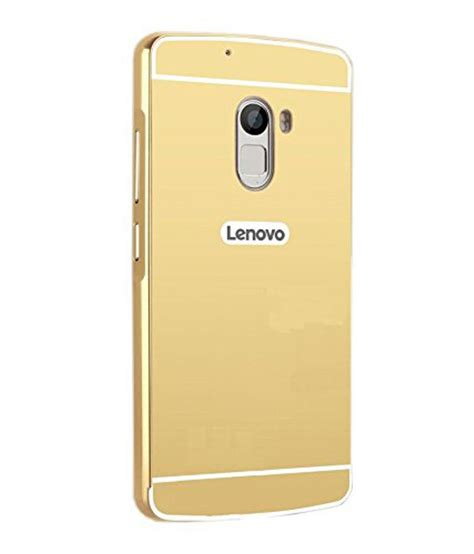 Resmi Lenovo Vibe K4 Note lenovo vibe k4 note cover by kosher traders golden plain back covers at low prices