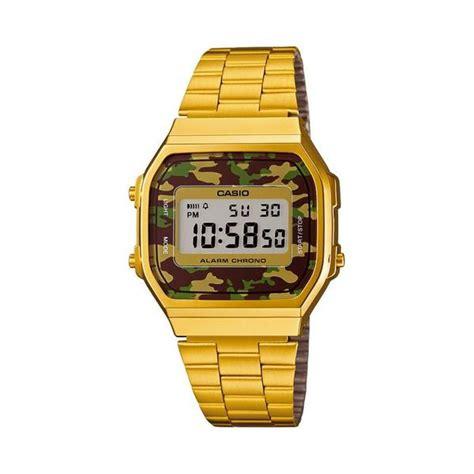 orologio casio mimetico orologio casio vintage digitale mimetico gold unisex