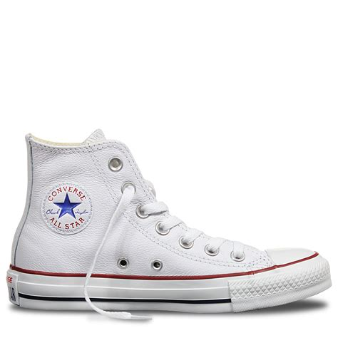 Harga Converse All White chuck all leather high top white converse