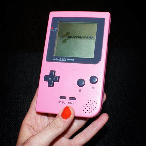 Gamis Pink pink boy pocket boxed retro gaming