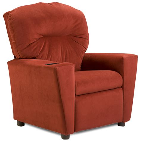 suede recliner kidz world solid color kids suede recliner red suede