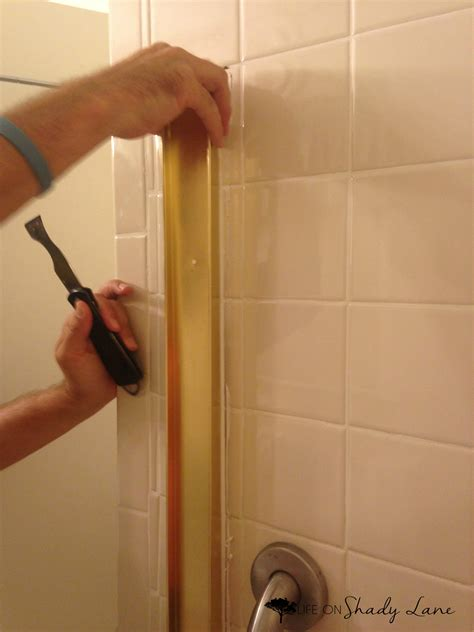 How To Remove Sliding Shower Doors Life On Shady Lane Removing Sliding Glass Shower Doors