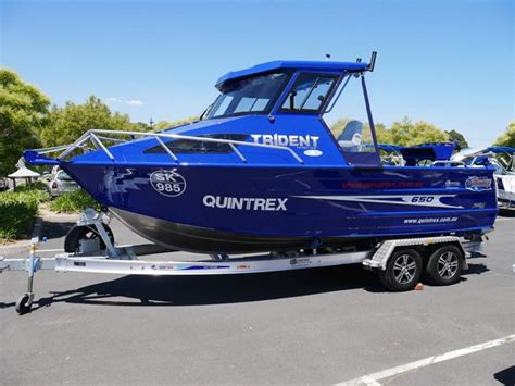 boats quintrex boat listing quintrex 650 trident hard top