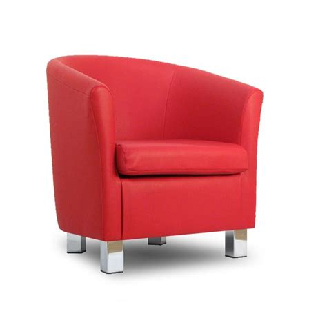 tub sofa and chair small leather sofa tub chair chrome legs