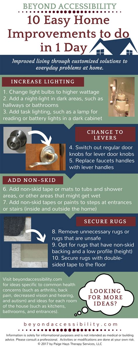 10 easy home improvements to do in 1 day beyond