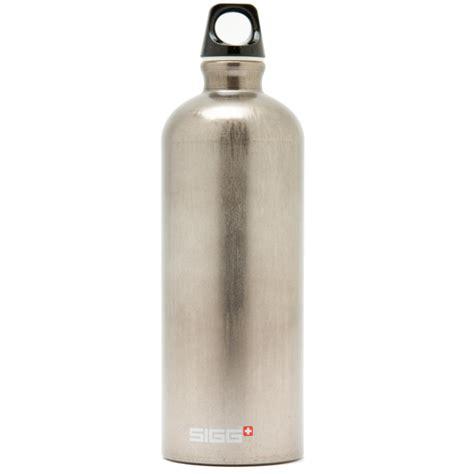 Sigg Water Bottles by Sigg Traveler 1 0l Bottle Metal Water Bottles