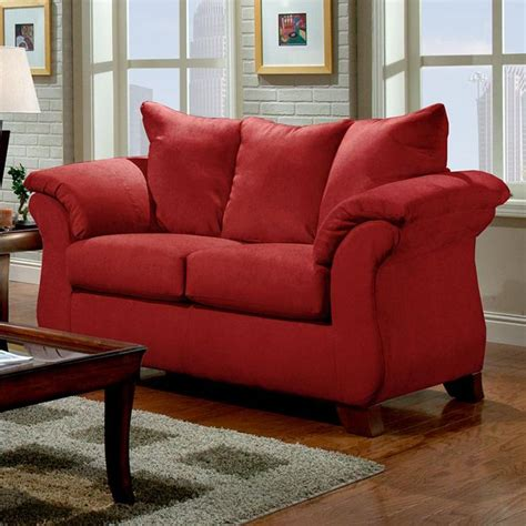 affordable furniture 6700 transitional flared pillow arm