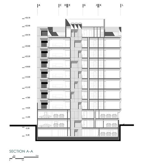 R In Section by Gallery Of Sipan Residential Building Ryra Studio 28