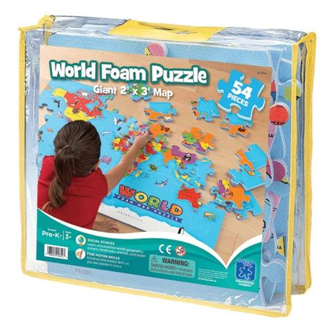 Puzzle Solar World Map world map foam puzzle educational toys planet