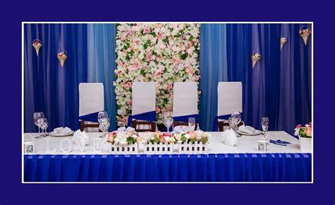 Tischdeko Hochzeit Blau by Tischdeko Hochzeit