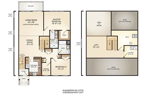luxury loft floor plans luxury 2 bedroom with loft house plans new home plans design