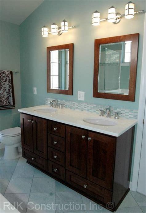 Light Blue Bathroom Contemporary Bathroom Dc Metro Light Blue Bathroom