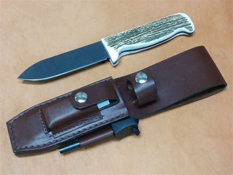 Handmade Leather Knife Sheaths - custom leather knife sheath