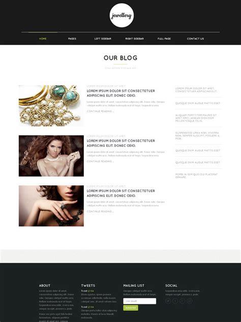 html templates for jewellery website fine jewelry web template jewelry website templates