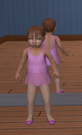 nudity toddler mod the sims toddler girls dance wear