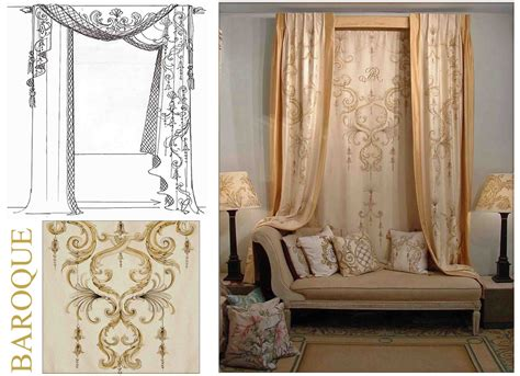 italian curtains design bery designs hand painted fabrics baroque