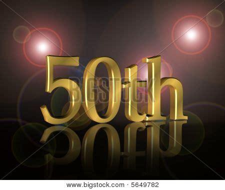 50th anniversary powerpoint template 50th birthday invitation image photo bigstock