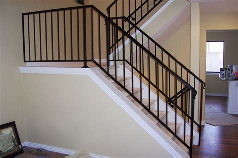 Metal Banisters And Railings by Railing Denver Colorado Deck Patio Stair Railing