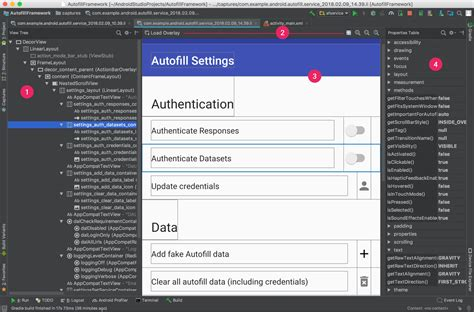 change layout android studio debug your layout with layout inspector android developers