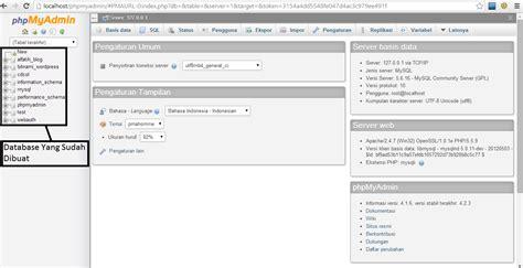 cara membuat database joomla di xp instalasi joomla dan xp cara membuat database di xp share for all blog