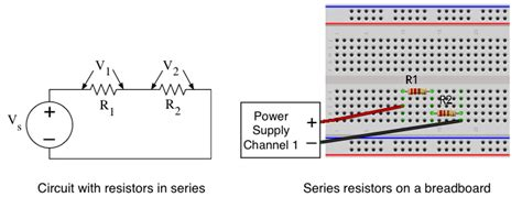 resistors are in series on breadboard series resistors breadboard 28 images current divider dc circuits electronics textbook lab