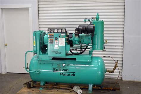 lot  sullivan palatek hp air compressor wirebids