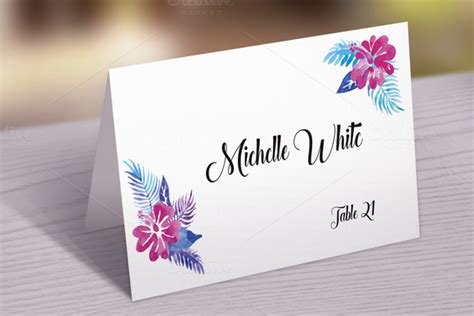 place cards template photoshop wedding text decoration for photoshop trackback