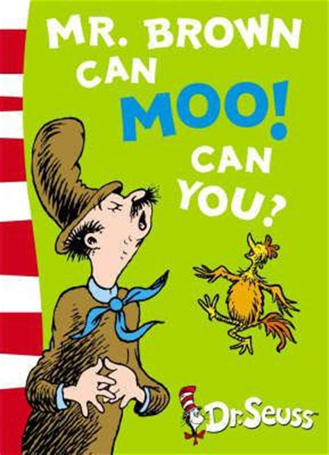 mr brown can moo 0007169914 dr seuss blue back book mr brown can moo can you blue back book dr seuss 9780007169917