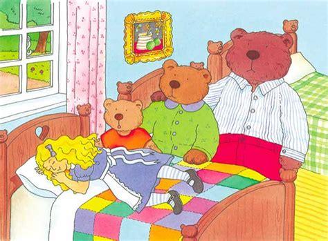 imagenes infantiles de ositos dibujos del cuento de ricitos de oro y los ositos car