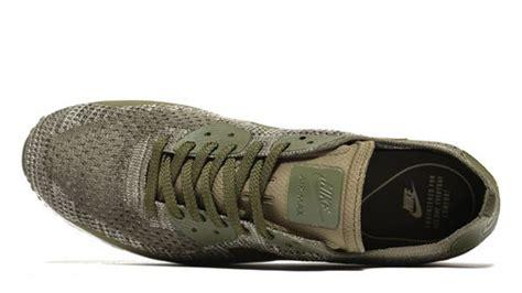 Nike Air Max 90 Ultra Flyknit Olive Grey nike air max 90 ultra 2 0 flyknit olive khaki the sole supplier