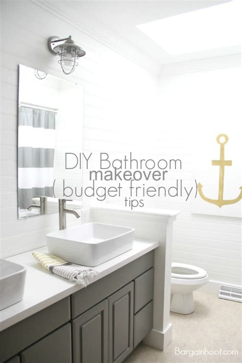 bathroom makeovers diy bathroom makeover