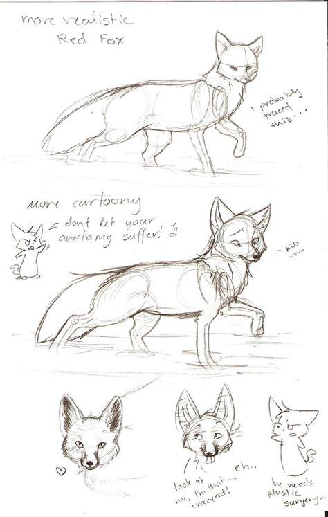 sketchbook tutor tutorial sketch fox 2 by joava on deviantart