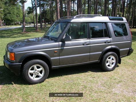 land rover series ii 2002 land rover discovery series ii information and