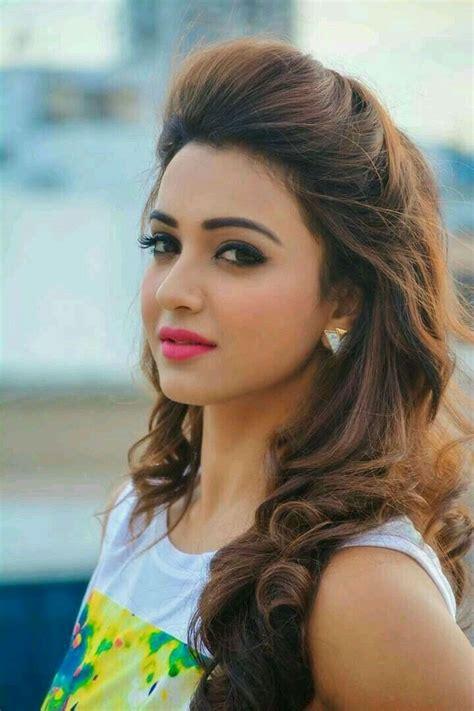 koushani mukherjee saree hairstyles hair styles indian