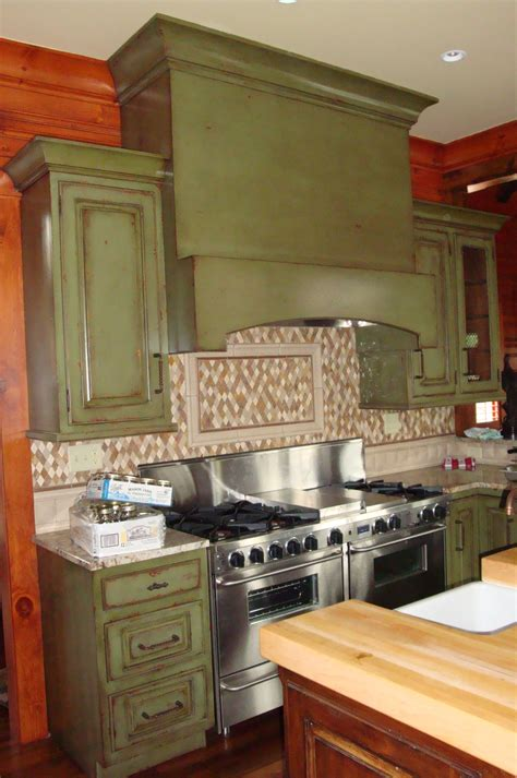 Distressed Green Kitchen Cabinets Renovate Your Home Wall Decor With Luxury Vintage Distressed Kitchen Cabinets Pictures And The