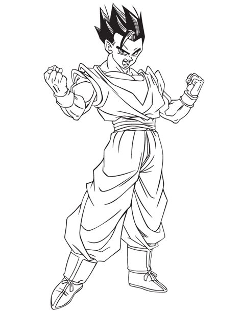 dragon ball character coloring page h m coloring pages free gohan dragon ball z kai coloring pages