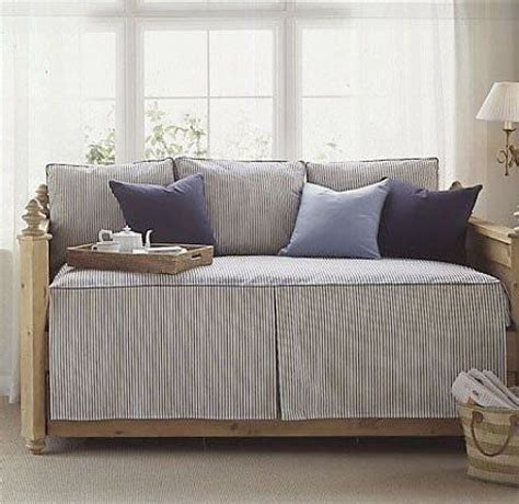 bed linen definition tip use striped bedding to define a daybed