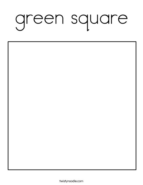 free coloring pages of the square